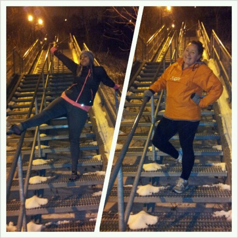 New Years Stairs